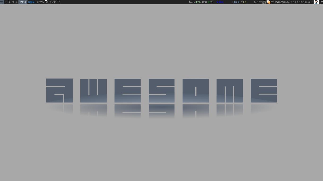 GitHub 今日贡献指示器的 Awesome 桌面