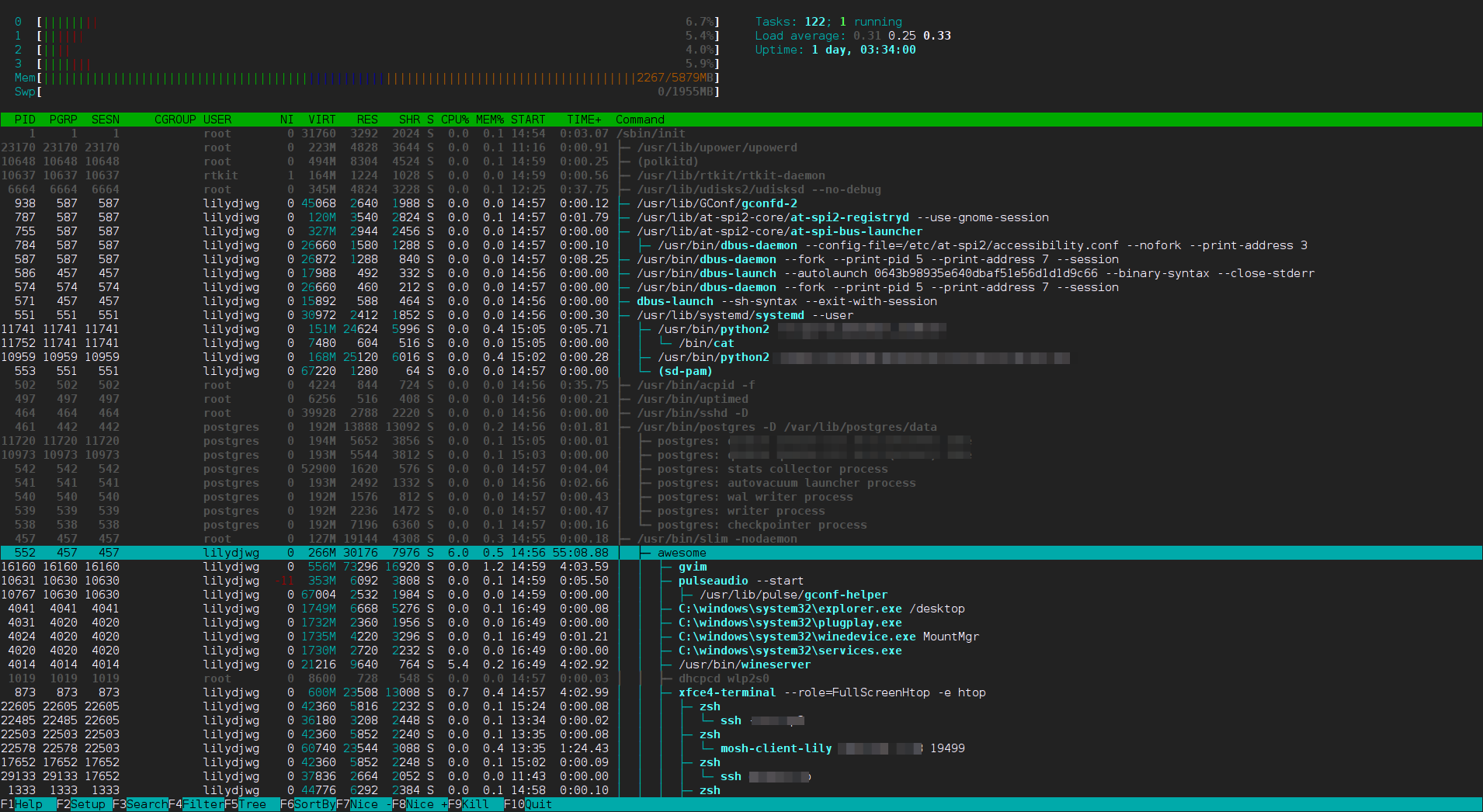 htop-awesome-tree