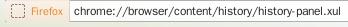 Chrome URL